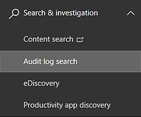 Audit Log Search