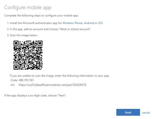Configure Mobile App