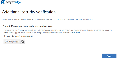 additional security verification 4