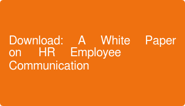 Download: A White Paper on HR Employee Communication